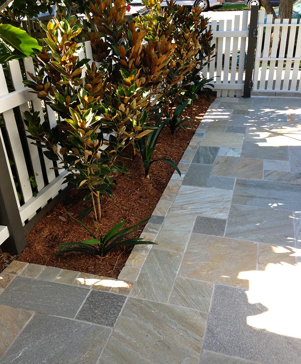 Natural Stone Tiling landscaping