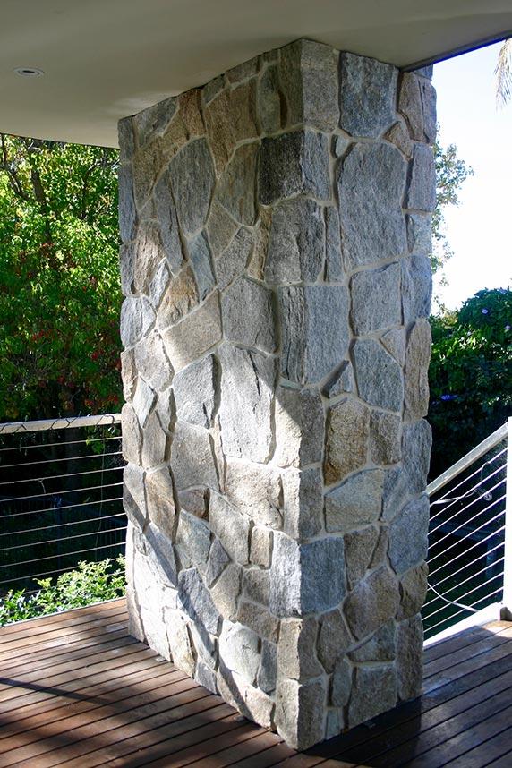 stoneclad pillar